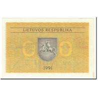 Lithuania, 0.50 Talonas, 1991, Undated (1991), KM:31b, NEUF - Lithuania