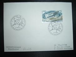 LETTRE TP LINDBERGH 1,90 OBL.9-6-1977 93 LE BOURGET SALON INTERNATIONAL DE L'AERONAUTIQUE Et De L'Espace - Transport