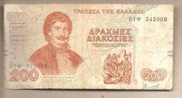 Grecia - Banconota Circolata Da 200 Dracme - 1996 - Grecia