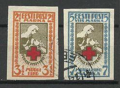 Estonia Estonie 1921 Michel 29 - 30 B O - Estland