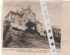 KLEIN - LANAYE... 1933...HET KASTEEL VAN CAESTERT  TERNAAIEN - Documentos Antiguos