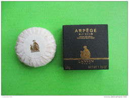 Savon LANVIN - ARPEGE  -- 50 G - (ne Pas Utiliser - Pour Collection) - Beauty Products
