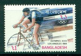 Bangladesh 1984 - Cycling Stamp - Los Angeles Olympics - 220 - MNH - Ciclismo