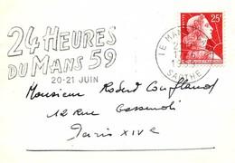24 HEURES DU MANS / SARTHE / 1959 / N°301 - Automobilismo