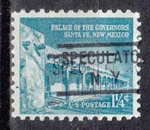 USA Precancel Vorausentwertung Preo, Locals New York, Speculator 804 - Vereinigte Staaten