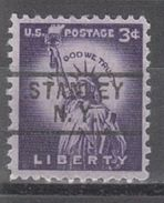 USA Precancel Vorausentwertung Preo, Locals New York, Stanley 729 - Vereinigte Staaten