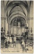 E7 19 MEYMAC Intérieur De L'église Animée N'a Pas Circulée - France