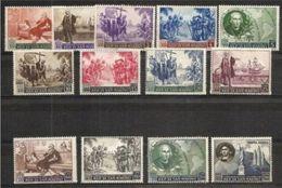 1952 San Marino Saint Marin COLOMBO Serie Di 13 Valori MNH** - Cristoforo Colombo