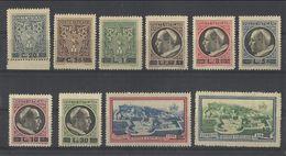 1946 Vaticano Vatican DEFINITIVA SOPRASTAMPATA Serie Di 10v. MNH** - Vatican