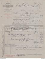 09 161B PRAT ARIEGE 1918 PLATRIERES DE BONREPAUX Ets EMILE CORNEIL Platre Gris Platres Agriculture PLATRIERE CARRIERE - France