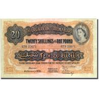 Billet, EAST AFRICA, 20 Shillings = 1 Pound, 1955, 1955-01-01, KM:35, TTB+ - Kenya