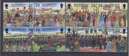 Alderney 2000 Garnison 8v ** Mnh (37259) - Alderney