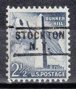 USA Precancel Vorausentwertung Preo, Locals New York, Stockton 729 - Vereinigte Staaten