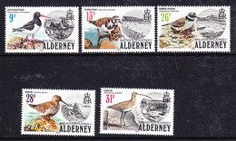 Alderney 1984 Birds 5v ** Mnh (37259A) - Alderney