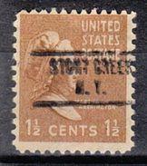 USA Precancel Vorausentwertung Preo, Locals New York, Stony Creek 734 - Vereinigte Staaten