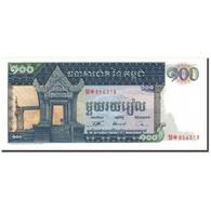 Cambodge, 100 Riels, 1962-1975, Undated (1962-1975), KM:12b, SPL - Cambodia