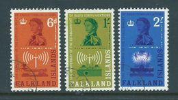 Falkland Islands 1962 Radio Staion Communication Set 3 FU - Falkland Islands