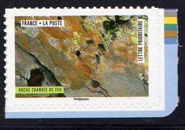 France 2018.Issu Du Carnet Oeuvres Créées Par La Nature.Roche Chargée De Fer** - Carnets