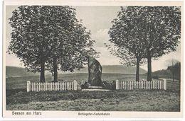 AK Seesen, Schlageter-Gedenkstein Auf Dem Hasseberg Um 1920 - Schaumburg