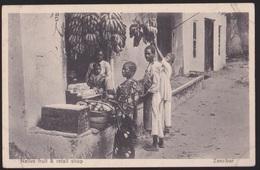 CPA   ZANZIBAR.  Native Fruit &retal Shop - Tanzanie