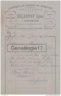 77 386 MONTBRIEUX GUERARD SEINE MARNE 1919 Fabrique De Sabots Et Semelles DELAUNOY LEON Galoches Soques - France