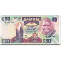 Zambie, 50 Kwacha, 1986-1988, Undated (1986-1988), KM:28a, NEUF - Zambie