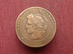 FRANCE Curiosité Monnaie De 5 Cts 1870 Transformée En Bouton De Manchette Superbe Travail - Variétés Et Curiosités