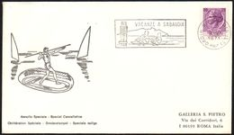 ROWING - ITALIA SABAUDIA (LT) 1971 - VACANZE A SABAUDIA - Canottaggio