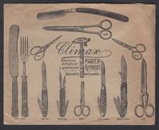 DR Illustrierter Firmenbrief Rechnung Climax Werk Solingen 1913 Solingen Nach Schlüchtern K59 - Briefe U. Dokumente