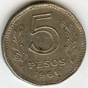 Argentine Argentina 5 Pesos 1966 KM 59 - Argentine