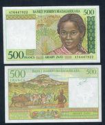 MADAGASCAR  500 Francs 1994 Pick75 UNC FDS  LOTTO 148 - Madagascar