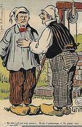 CPA HUMOUR. Illustrateur GRIFF. Ma Fille ! Al' Est Trop Jeune !..., Etc. Paysan En Sabot,puits. .CO 053 - Griff