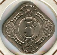 Antilles Neérlandaises Netherlands Antilles 5 Cents 1967 KM 6 - Netherland Antilles
