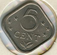 Antilles Neérlandaises Netherlands Antilles 5 Cents 1975 KM 13 - Netherland Antilles