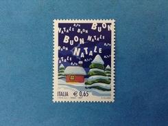 2007 ITALIA FRANCOBOLLO NUOVO STAMP NEW MNH** - NATALE LAICO - Noël