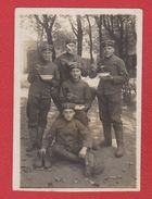 Hundsfeld  --  Carte Photo Soldats Allemands -- 1915 - Pologne