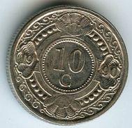 Antilles Neérlandaises Netherlands Antilles 10 Cents 1990 KM 34 - Antilles Neérlandaises