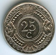 Antilles Neérlandaises Netherlands Antilles 25 Cents 1990 KM 35 - Antilles Neérlandaises