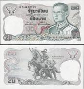 Thailand 1981 - 20 Baht - Pick 88 UNC - Singapour