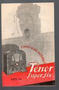 TSF :catalogue TENOR SUPER SIX  (ill Lupa) (PPP6577) - Advertising