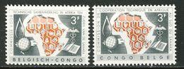 Congo Belge - Belgisch Kongo Nr 365-366  Neufs - Postfris ) MNH  (XX) - Congo Belge