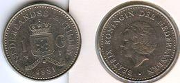 Antilles Neérlandaises Netherlands Antilles 1 Gulden 1981 KM 24 - Antilles Neérlandaises