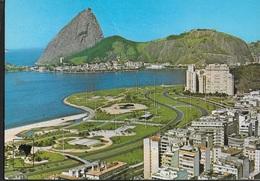 BRASILE - RIO DE JANEIRO - PANORAMICA - VIAGGIATA 1978 - AFFRANCATURA MECCANICA ROSSA - Rio De Janeiro