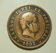 Portugal 20 Reis 1892 D. Carlos I - Portugal