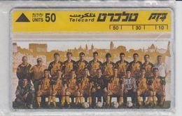 ISRAEL 1993 BEITAR JERUSALEM FOOTBALL CLUB CHAMPION MINT PHONE CARD - Israel