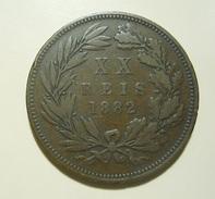 Portugal XX Reis 1882 D. Luiz I - Portugal