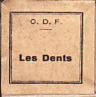 1 Film Fixe LES DENTS Dentiste (ETAT TTB ) - Bobines De Films: 35mm - 16mm - 9,5+8+S8mm