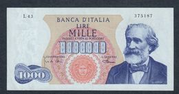 1000 Lire Verdi I° Tipo 04 01 1968 R2 RR Sup/fds LOTTO 1707 - [ 2] 1946-… : République