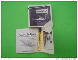 TRINTIGNANT Jean Louis - Echantillon (collector - Ne Pas Utliser) Date Des Années 1990 - Perfume Samples (testers)