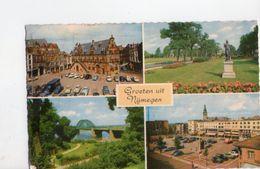 U1289 Small Postcard:  Gelderland > Nijmegen - GROETEN UIT NYMEGEN + AUTO CARS VOITURES + NICE TIMBRE - Nijmegen